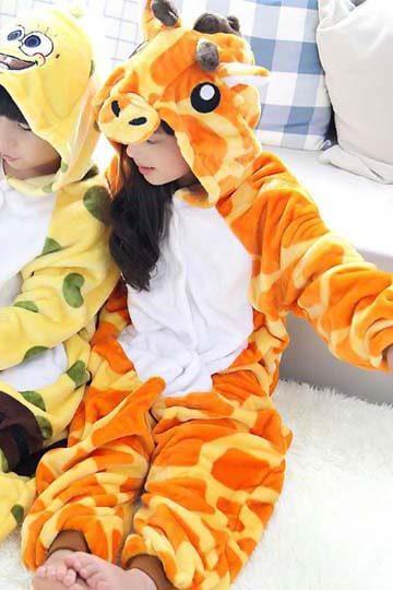 Детский кигуруми жираф фото
