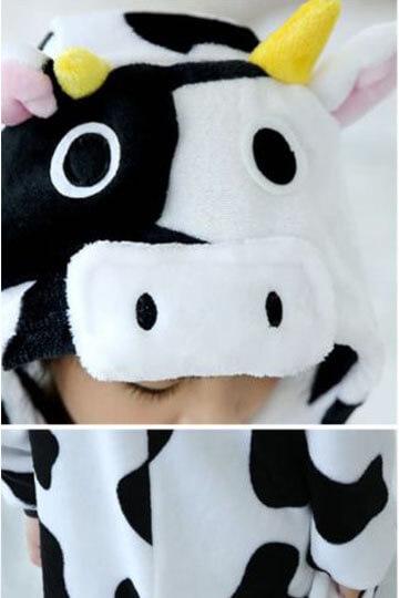 Детский кигуруми корова фото