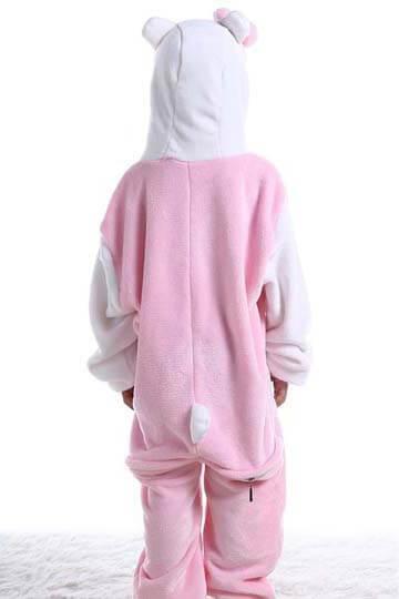 Детский кигуруми котенок розовый купить