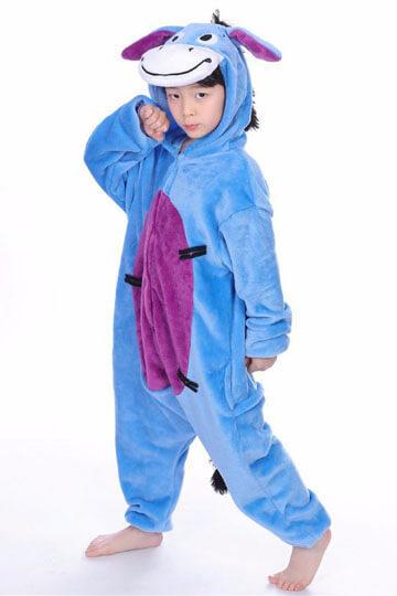 Детский кигуруми ослик иа