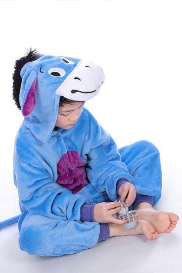 Детский кигуруми ослик иа фото