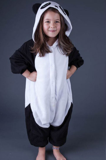 Детский кигуруми панда фото