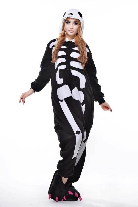 Кигуруми скелет магазин