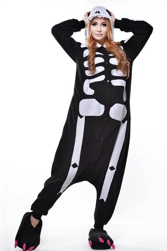 Кигуруми скелет