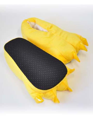 Тапки лапки желтые купить