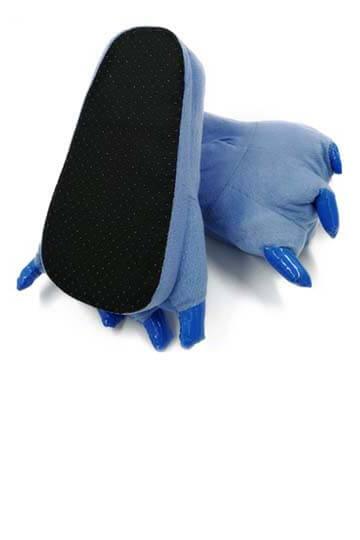 Тапки лапки синие фото