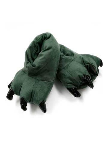Тапки лапки зеленые