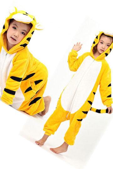 Детский кигуруми тигр желтый купить