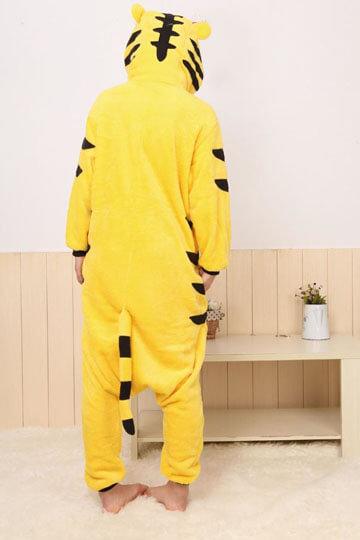 Детский кигуруми тигр желтый магазин