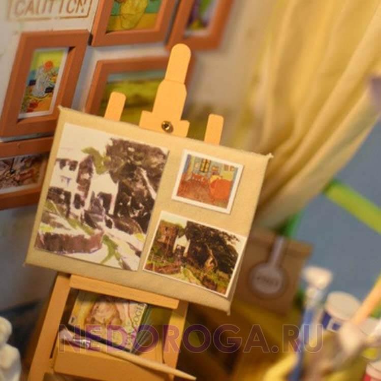 Румбокс комната художника Diy фото