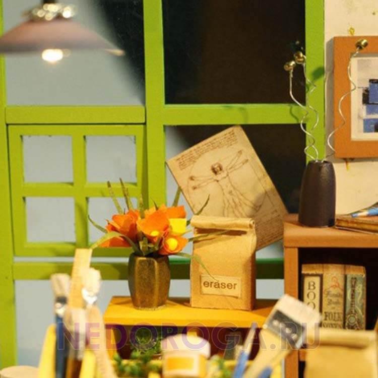 Румбокс комната художника Diy