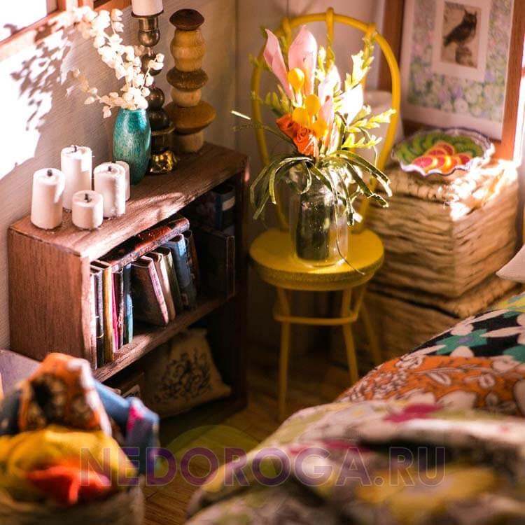 Румбокс жилая комната Diy фото