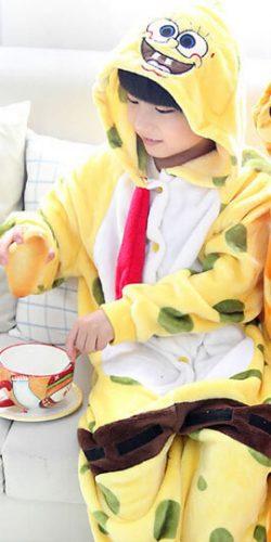 Детский кигуруми спанч боб купить