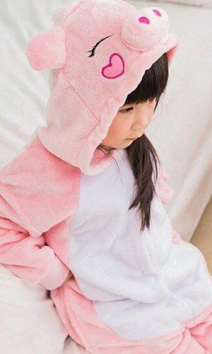 Детский кигуруми свинка купить