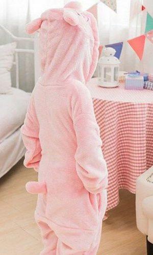 Детский кигуруми свинка фото