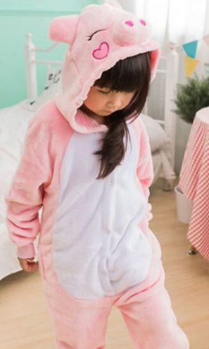 Детский кигуруми свинка